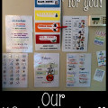 Our Good Morning Wall. Kid Schedule, Behavior Chart, and Day learning. Free Printable